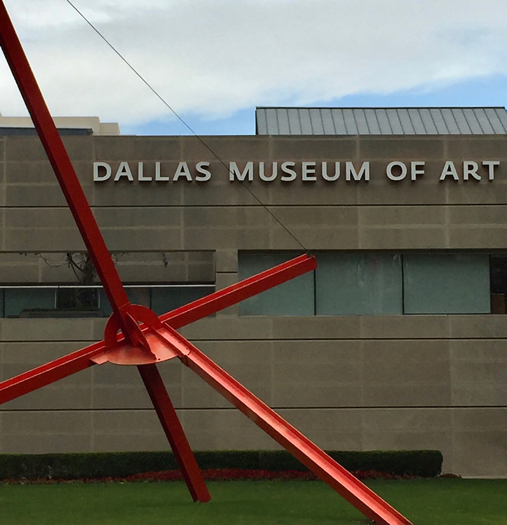 Image of the outide of Dallas Museum Of Art USA
